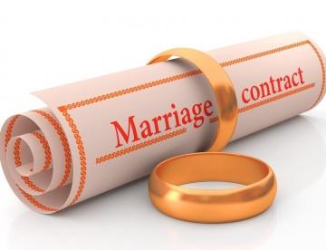 אימות הסכם ממון בין בני זוג